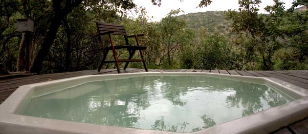yellow wood game lodge, vaalwater, waterberg region, limpopo game lodge, game lodge chalets, jacuzzi with game reserve, vaalwater jacuzzi